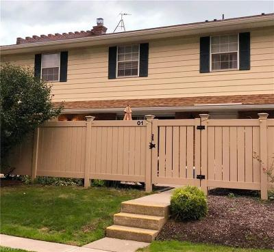 Lake County Condo/Townhouse For Sale: 7970 Mentor Ave #O-1