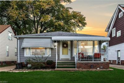 Parma Single Family Home For Sale: 6810 Kenneth Ave