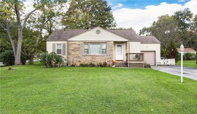 Youngstown Single Family Home For Sale: 6728 Paxton Rd