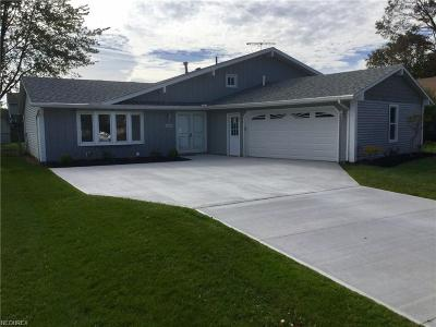 North Ridgeville Single Family Home For Sale: 35215 Downing Ave