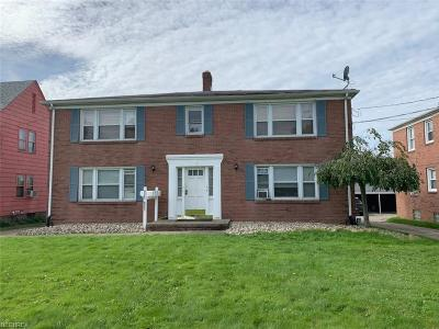Youngstown Multi Family Home For Sale: 5516 Southern Blvd