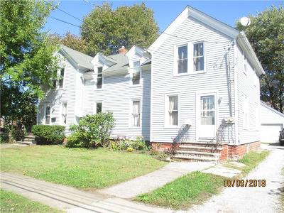 Painesville Multi Family Home For Sale: 383 South Saint Clair St