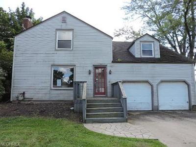 Warren Single Family Home For Sale: 121 Marshall Ave West