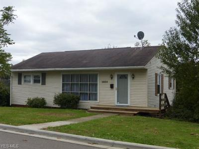 Guernsey County Single Family Home For Sale: 1009 Oakland Blvd