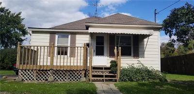 Youngstown Single Family Home For Sale: 1630 Everett Ave
