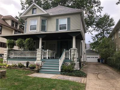 Lakewood Single Family Home For Sale: 1474 Lincoln Ave