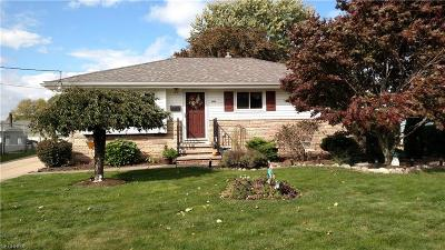 Brook Park Single Family Home For Sale: 6400 Michael Dr