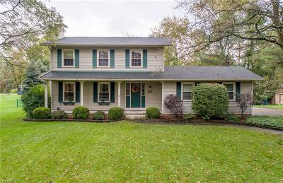 Macedonia Single Family Home Active Under Contract: 9229 N Bedford Road