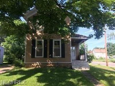 Warren Single Family Home For Sale: 869 Prospect Ave Northwest