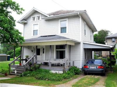 Guernsey County Single Family Home For Sale: 302 North 5th St