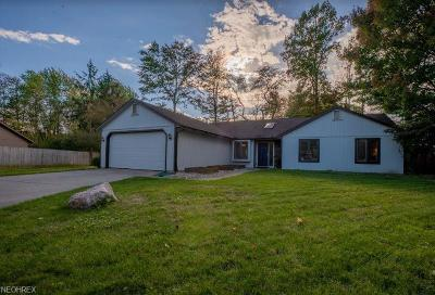 Strongsville Single Family Home For Sale: 19584 Cross Trl North