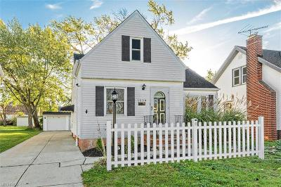 Mayfield Heights Single Family Home For Sale: 1539 Temple Ave