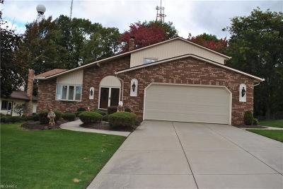 Parma Single Family Home For Sale: 1308 Rustic Trl