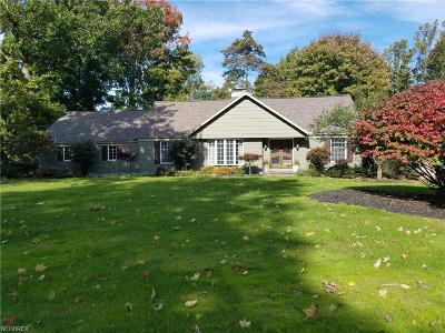Brecksville Single Family Home For Sale: 10507 Laurel Ln