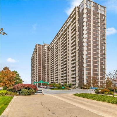 Bay Village, Cleveland, Lakewood, Rocky River, Avon Lake Condo/Townhouse For Sale: 12900 Lake Ave #2020