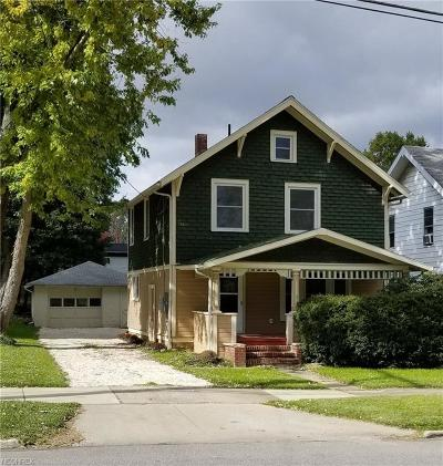 Wadsworth Single Family Home For Sale: 472 Main St