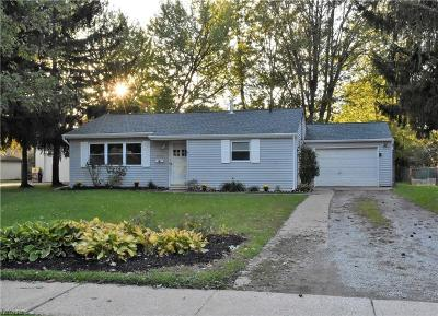North Ridgeville Single Family Home For Sale: 5972 Paula Blvd
