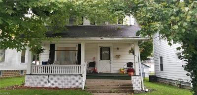 Muskingum County Single Family Home For Sale: 411 Seborn Ave