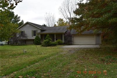 Huron County Single Family Home For Sale: 4749 West River Rd