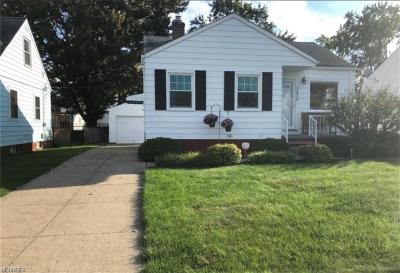 Cuyahoga County Single Family Home For Sale: 12624 Southern Ave