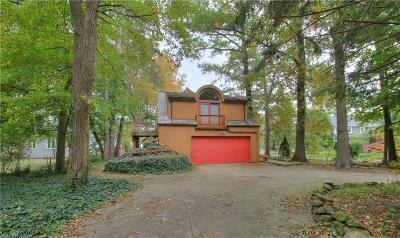 Bay Village Single Family Home For Sale: 25140 Lake Rd