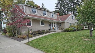 Beachwood Single Family Home For Sale: 22207 Halburton Rd