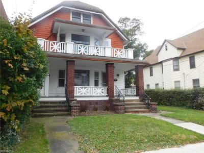 Cuyahoga County Multi Family Home For Sale: 1380/1382 Lakeland Ave