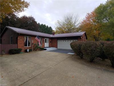 Conneaut Single Family Home For Sale: 1973 Bridgeview Ln