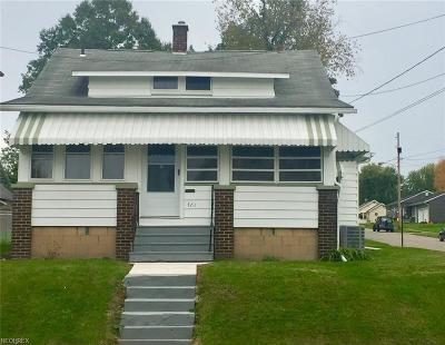 Girard Single Family Home For Sale: 701 Lawrence Ave