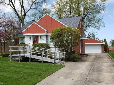 Single Family Home For Sale: 5935 Mayland Ave