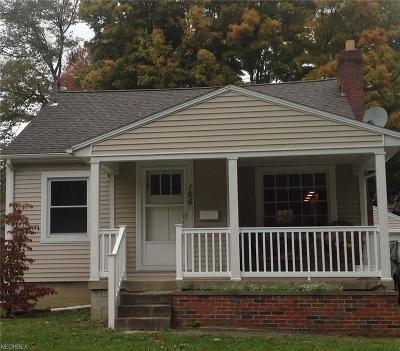 Boardman Single Family Home For Sale: 166 Homestead Dr