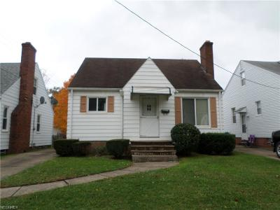 Parma OH Single Family Home Sold: $72,000
