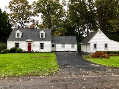 Youngstown Single Family Home For Sale: 1045 Colonial Dr