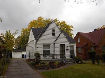 Cleveland OH Single Family Home For Sale: $84,900