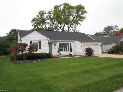 Rocky River Single Family Home For Sale: 2696 Tonawanda Dr