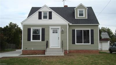 Willowick Single Family Home For Sale: 269 East 327th