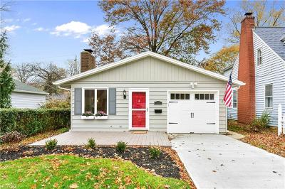 Lorain County Single Family Home For Sale: 184 Sunset Rd