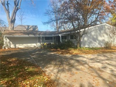Rocky River Single Family Home For Sale: 21690 Hilliard Blvd