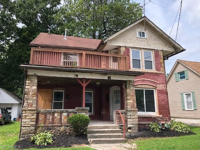 Painesville OH Single Family Home For Sale: $17,500