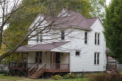 Kent Single Family Home For Sale: 237 East Williams St