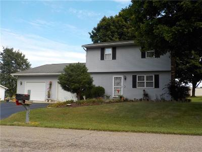 Nashport OH Single Family Home For Sale: $159,900