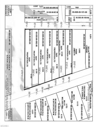 Ashtabula County Residential Lots & Land For Sale: 1815 Columbus Ave