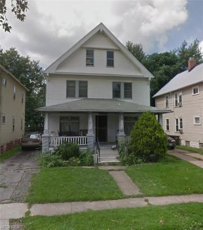 Cuyahoga County Multi Family Home For Sale: 2056 West 99 St