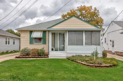 Willowick Single Family Home For Sale: 32118 Densmore Rd