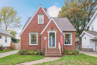 Cleveland OH Single Family Home For Sale: $171,900