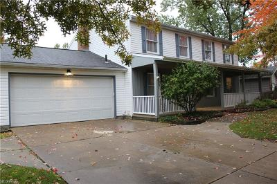 Strongsville Single Family Home For Sale: 18399 West Bend Dr