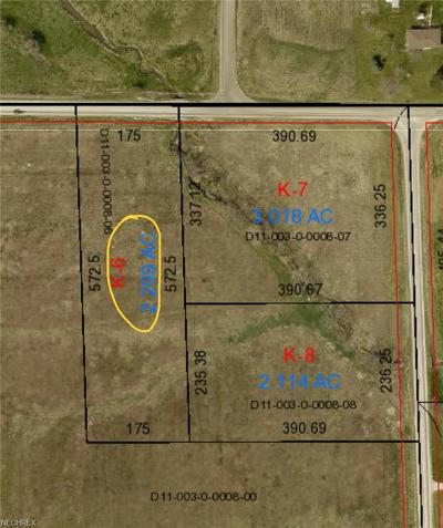 Ashland County Residential Lots & Land For Sale: Co Road 500