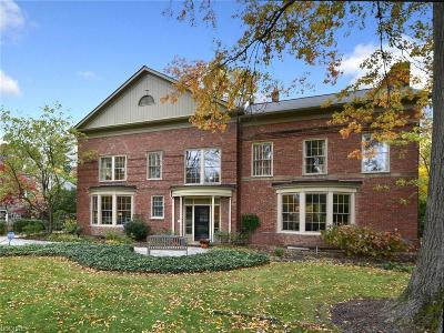 Shaker Heights Single Family Home For Sale: 18115 Shaker Boulevard