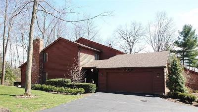 Geauga County Condo/Townhouse For Sale: 46 Windward Ln
