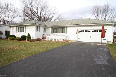 Elyria OH Single Family Home For Sale: $127,900